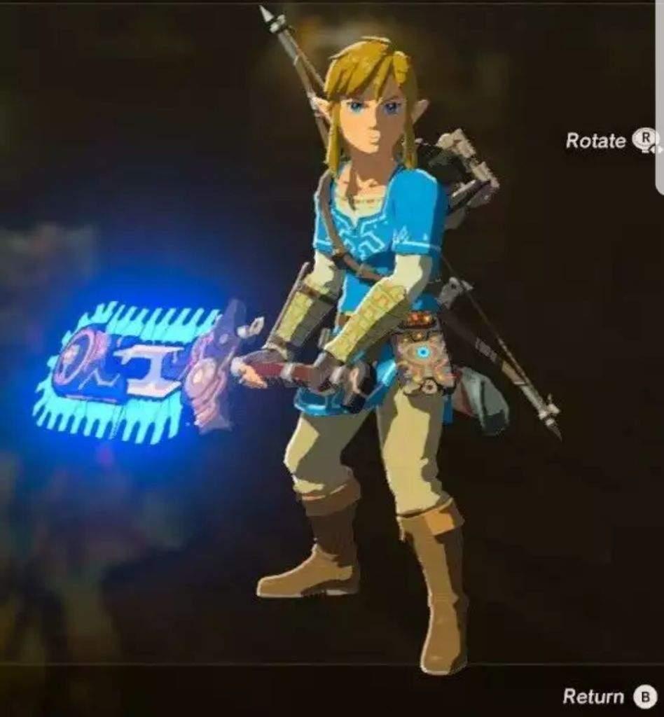 Top 10 Best LOZ BOTW weapons! | Zelda Amino