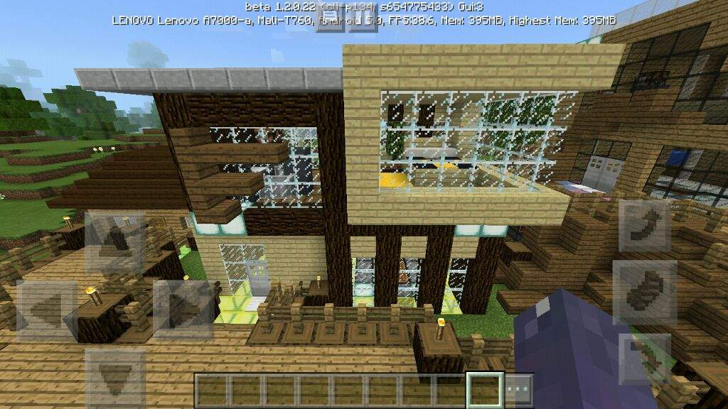The Wooden Modern House Minecraft Amino