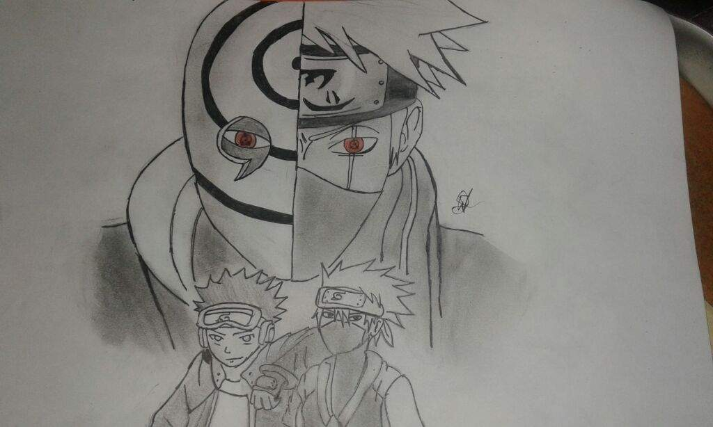 Obito Kakashi Desenho Naruto Shippuden Online Amino