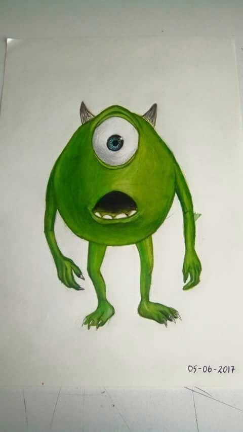 Dibujo De Disney Monster Inc Dibujarte Amino