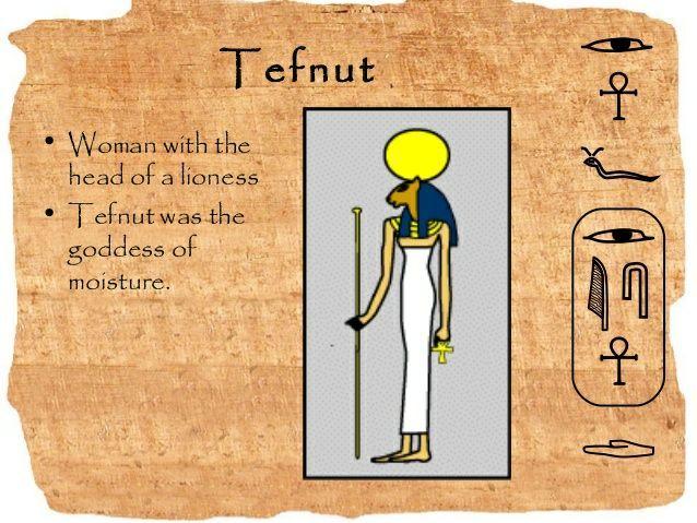 Tefnut Tefnut: the