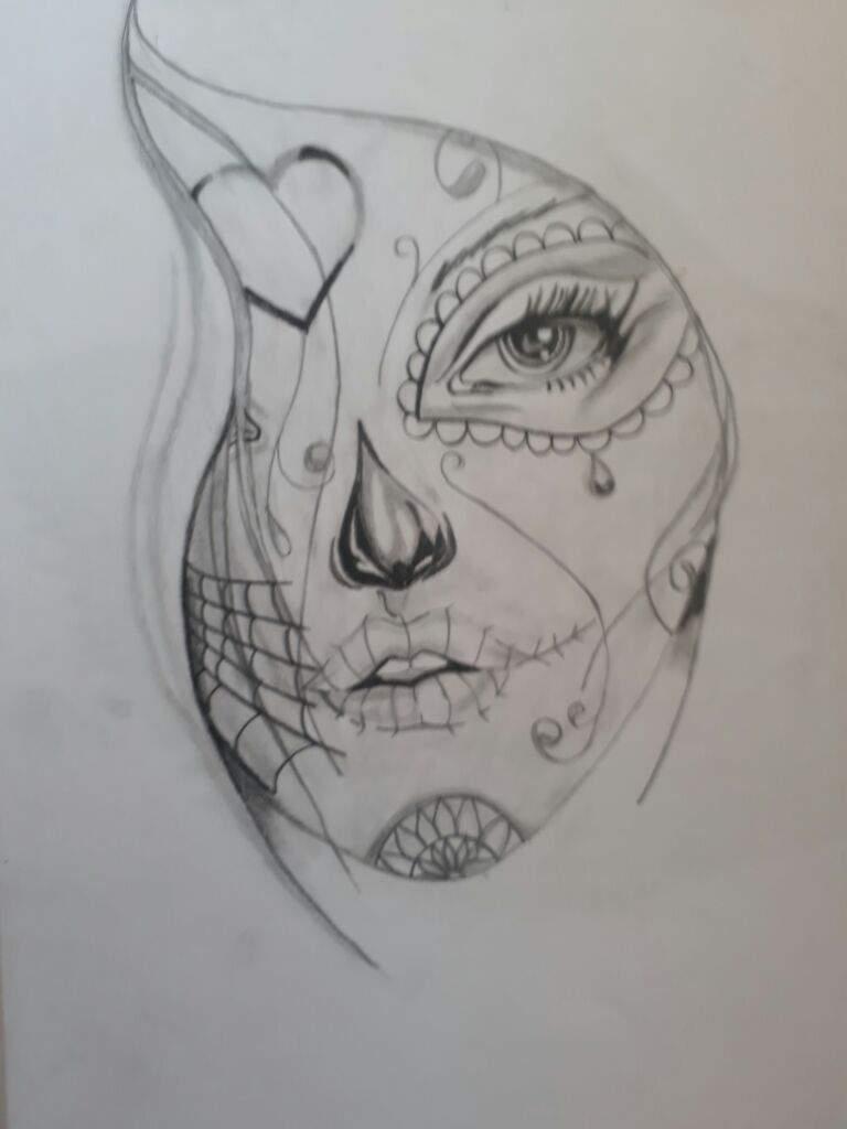 Dibujos A Lapiz Catrina