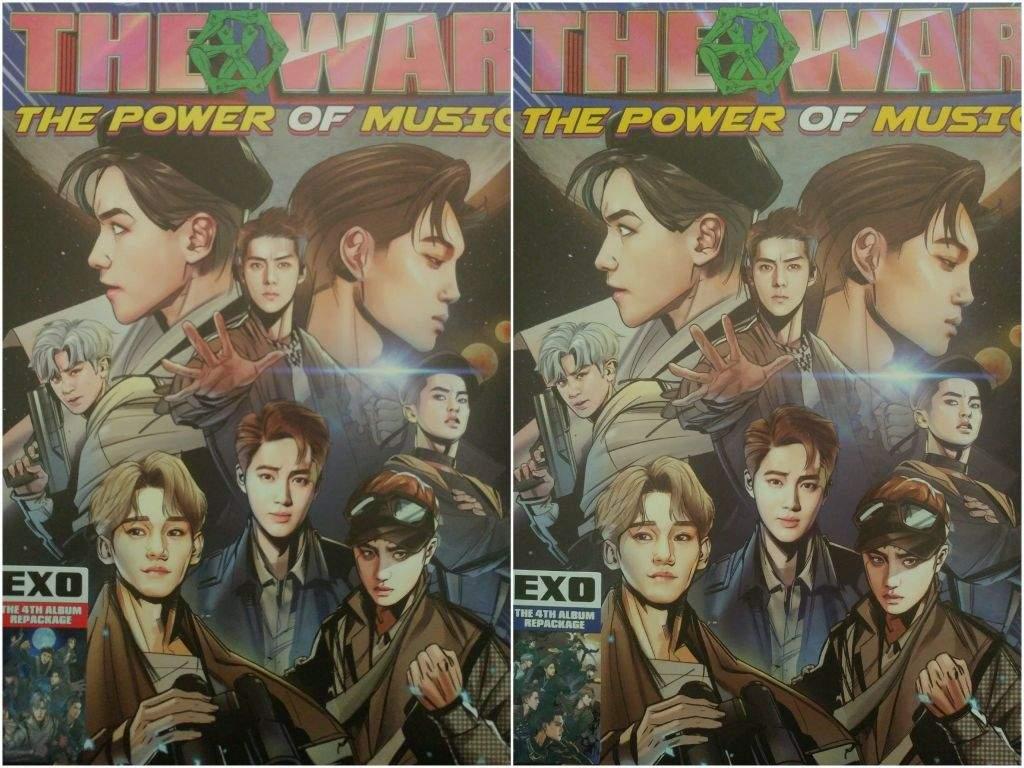 The War Power Album Unboxing K C