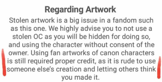 2e1c2c5bc13 It clearly says you have to credit artists properly when using their  artworks. And no