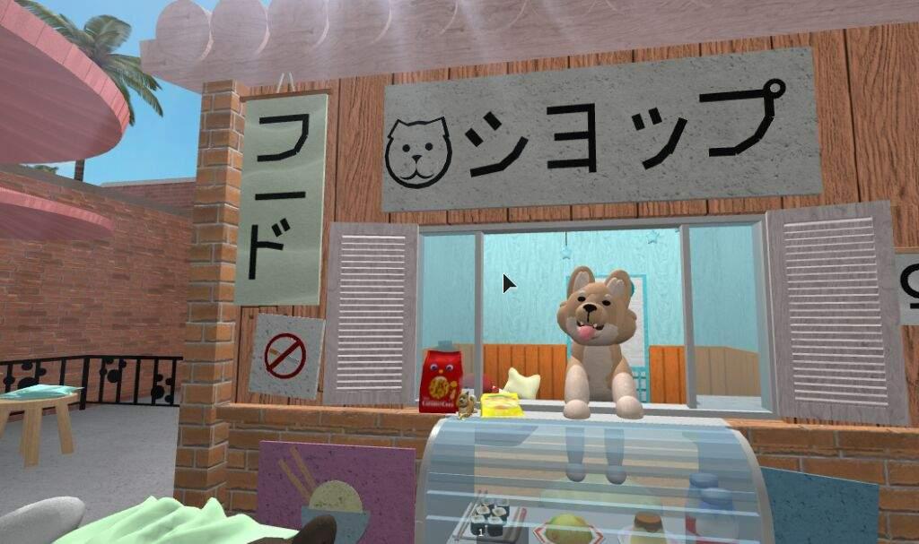 Pastel Dog Japanese Aesthetic Build Roblox Amino
