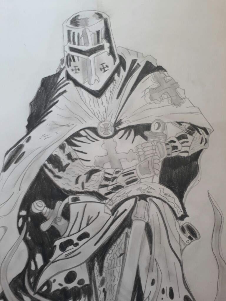 Caballero Medieval Dibujo A Lapiz Dibujarte Amino