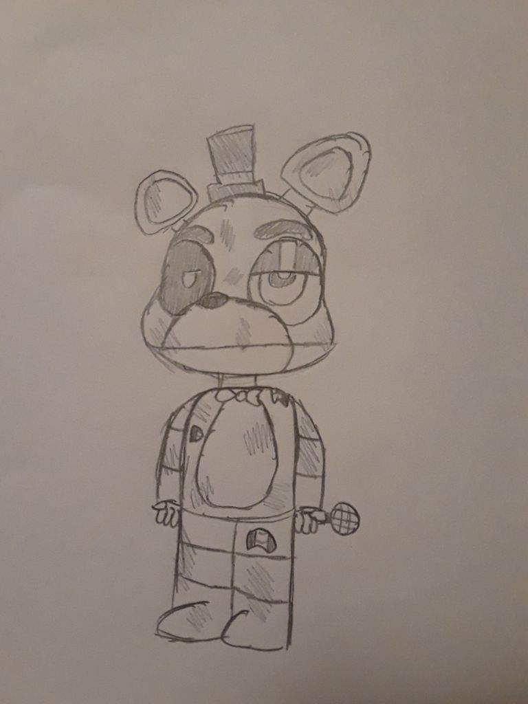 Withered Freddy drawing | Five Nights At Freddy's Amino