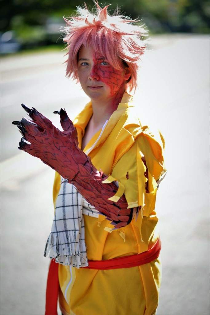 Natsu Dragneel Dragon Cry Cosplay Amino