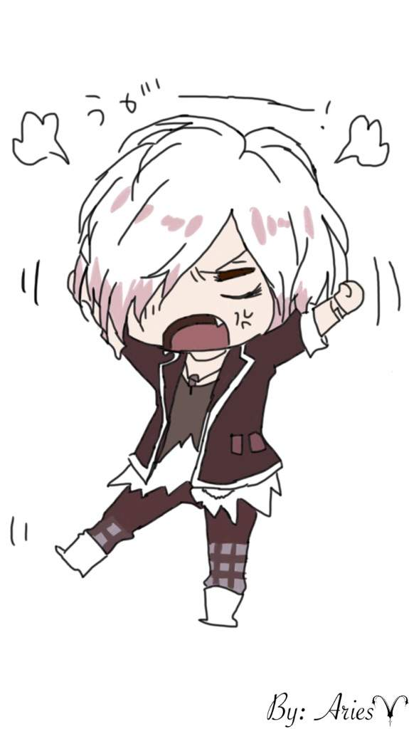 Angry Chibi Subaru {Drawing} | Diabolik Lovers💋 Amino