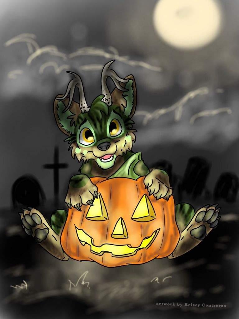 Halloween YCH
