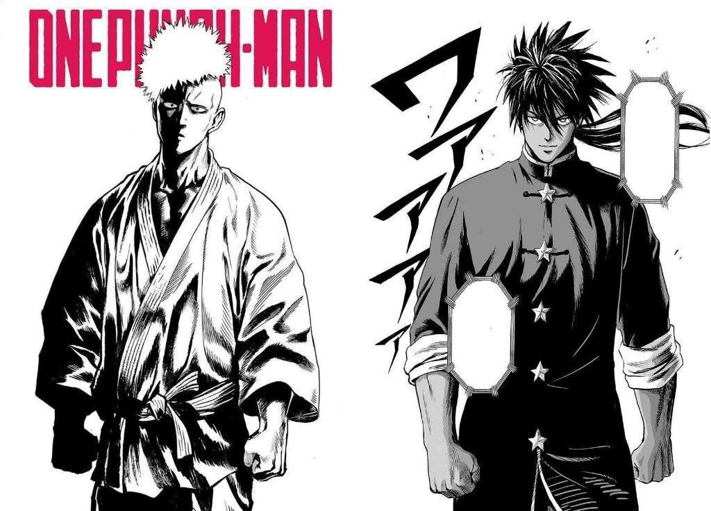 Vs manga one man comparison webcomic punch Manga Anime