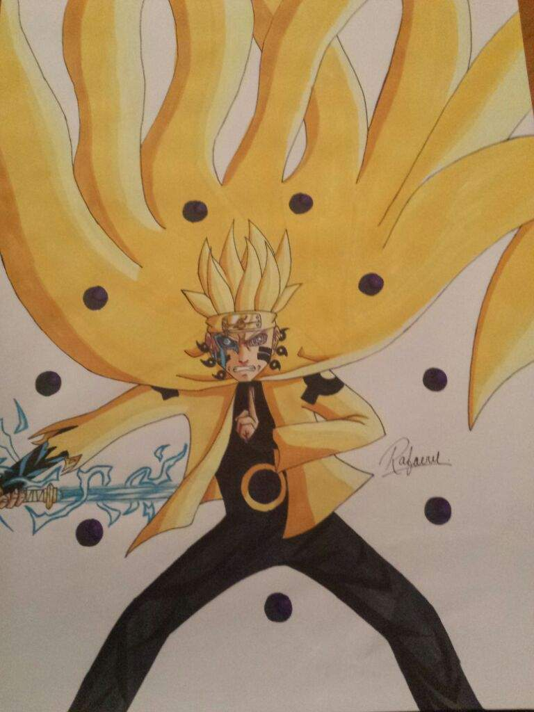 Drawing Boruto Six Paths Mode Curse Mark Jougan And Sasuke S Rinnegan Naruto Amino