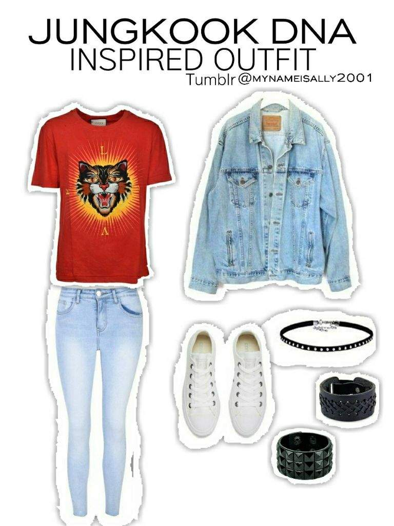 BTS DNA INSPIRED OUTFITS | Korean Fashion Amino