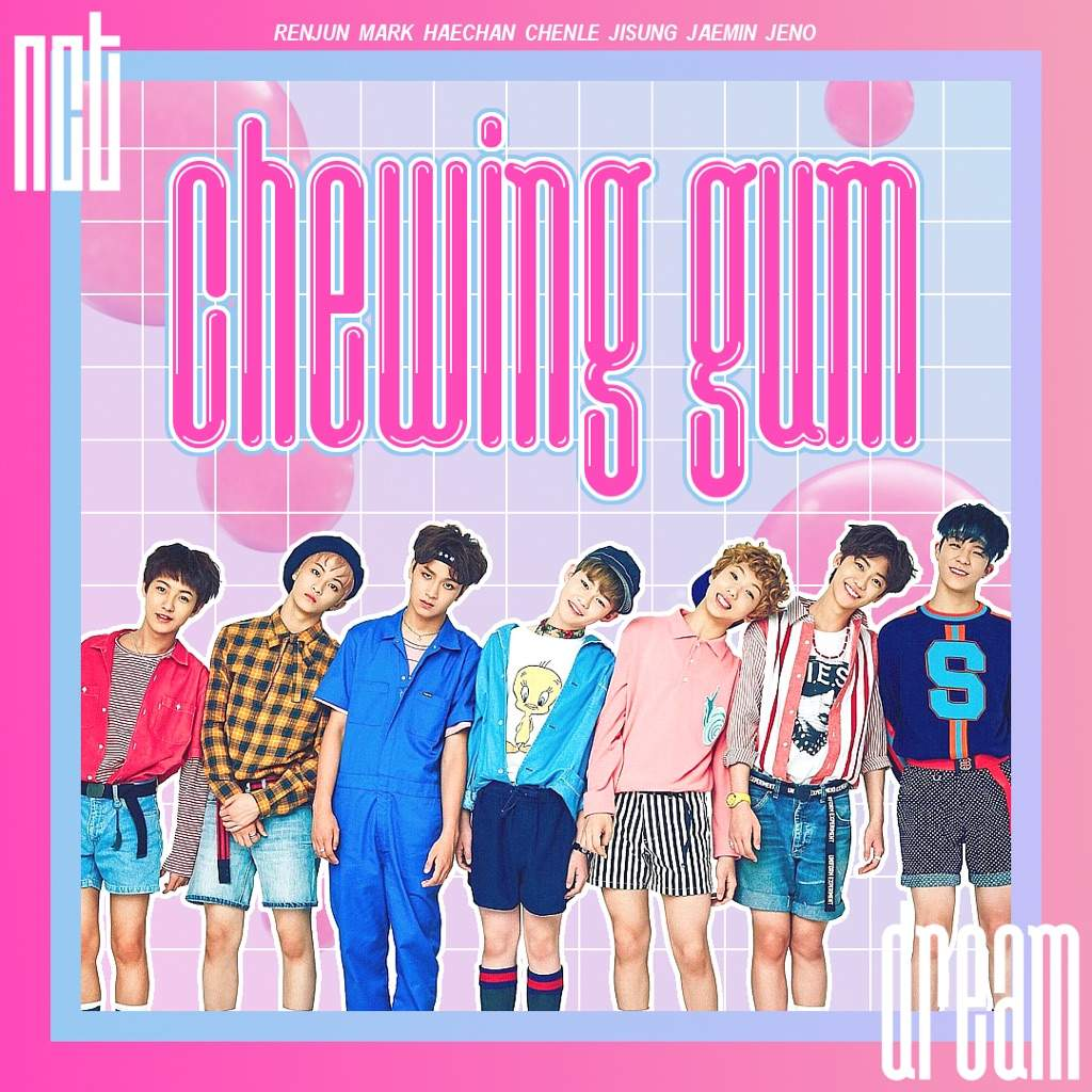 Nct Dream Chewing Gum