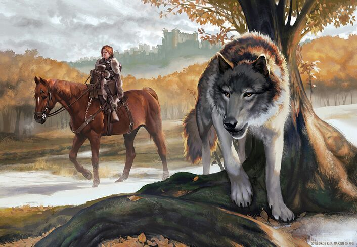 is the direwolf the dire wolf thrones amino