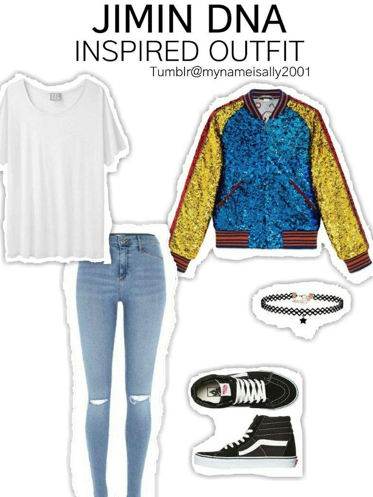 BTS DNA INSPIRED OUTFITS