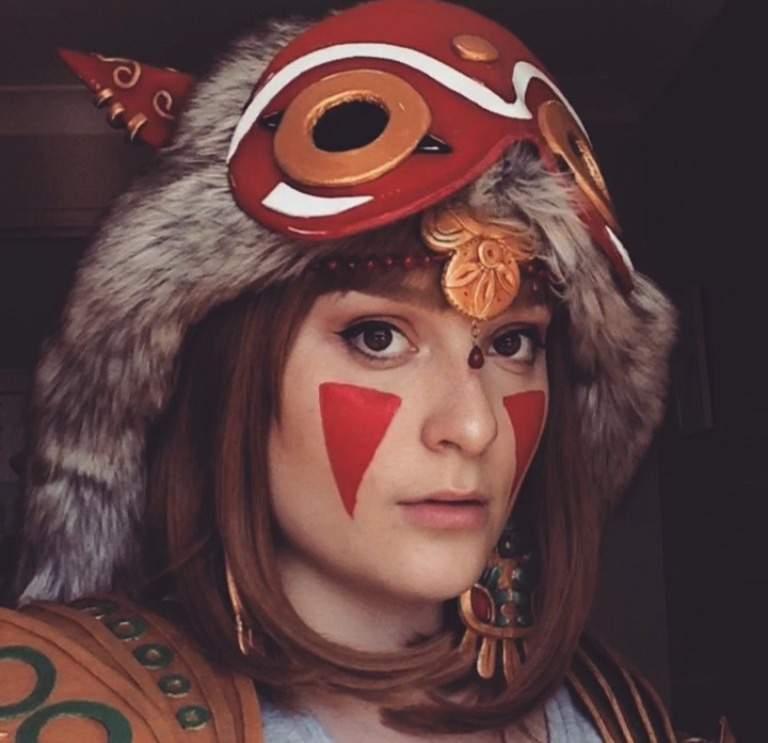 hannah alexander princess mononoke cosplay amino
