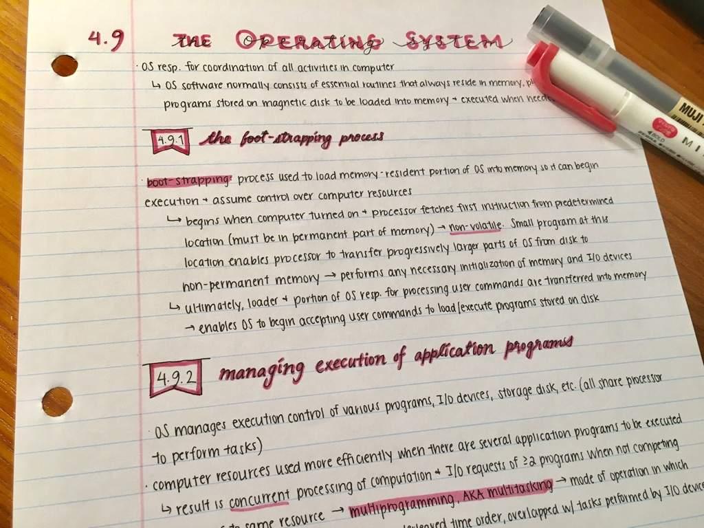 More computer engineering notes | Studying Amino Amino