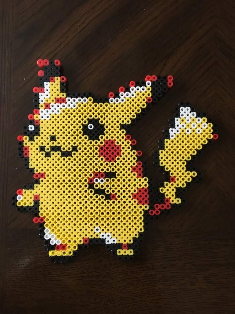 Pikachu Perler Beads!   Pokémon Amino