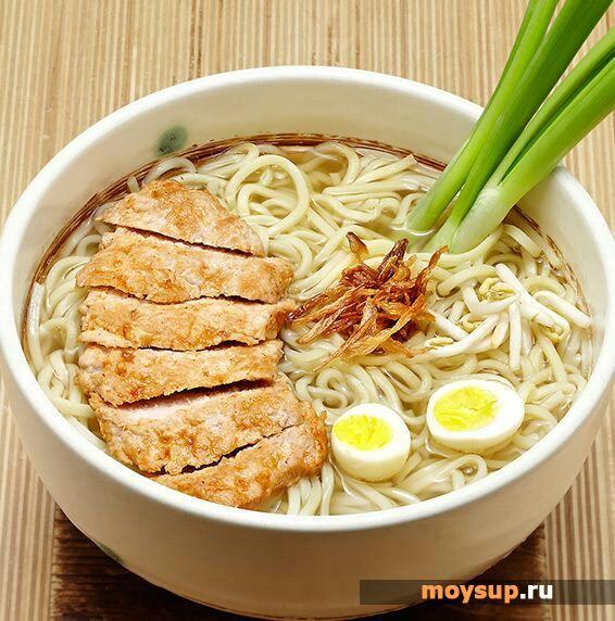 как приготовить суп японский