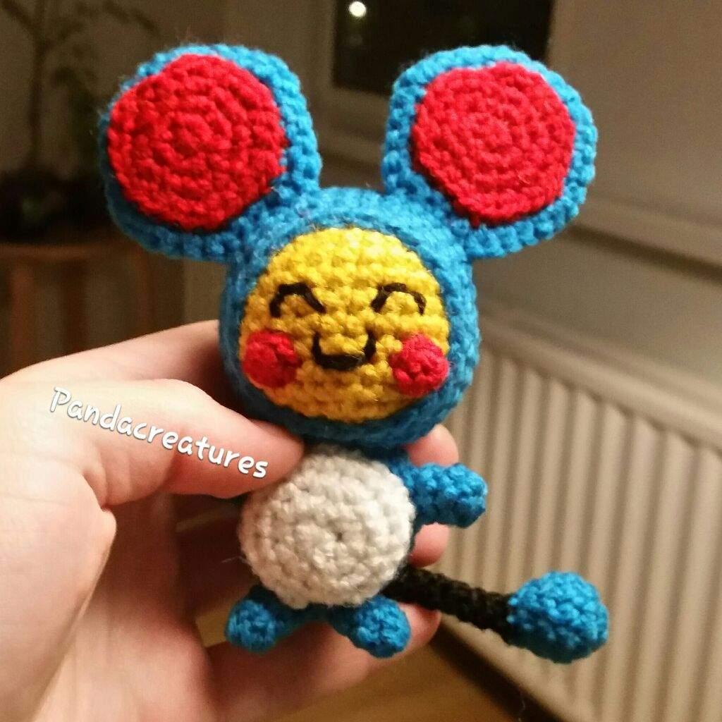 Crochet Marill (Pokemon) Part II by Lady-Alana on DeviantArt   1024x1024
