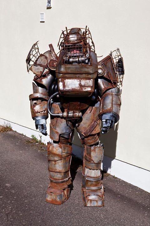 fallout 4 raider power armour cosplay amino
