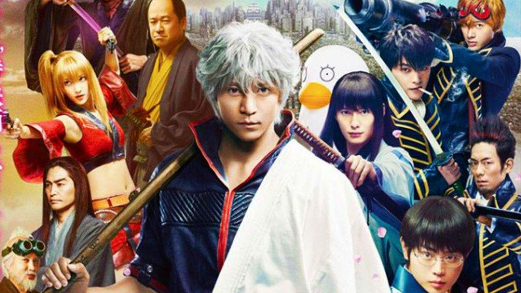 It Is Confirmed Today That The Live Action Film Adaptation Of Hideaki Sorachis Comedy Manga Gintama Will Be Available Digital First On October 25