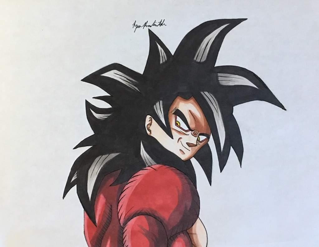 Super Saiyan 4 Goku Drawing