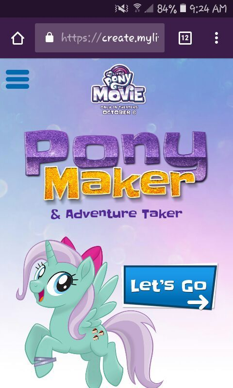 Review of My Little Pony Movie Creator Thing  Equestria Amino