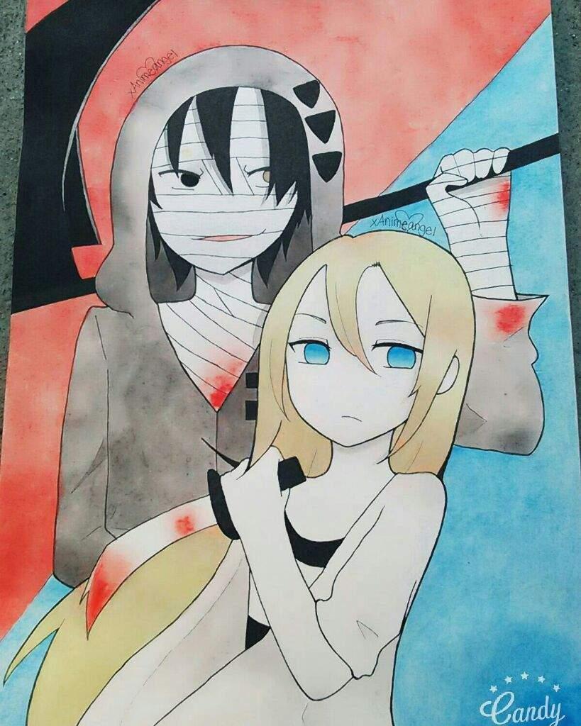 Fan Art Angels Of Death