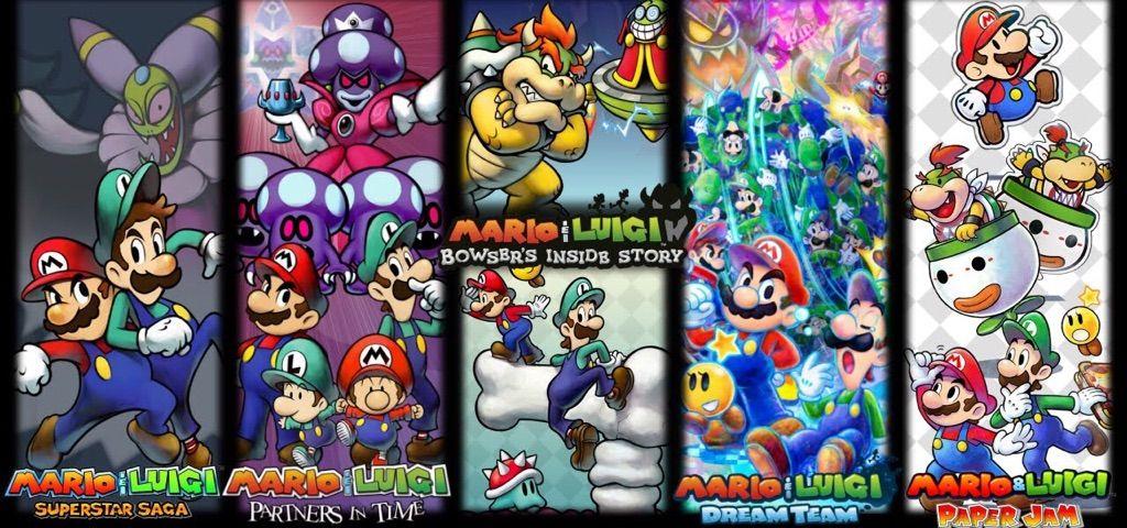 All Mario And Luigi Games Ranked Mario Amino