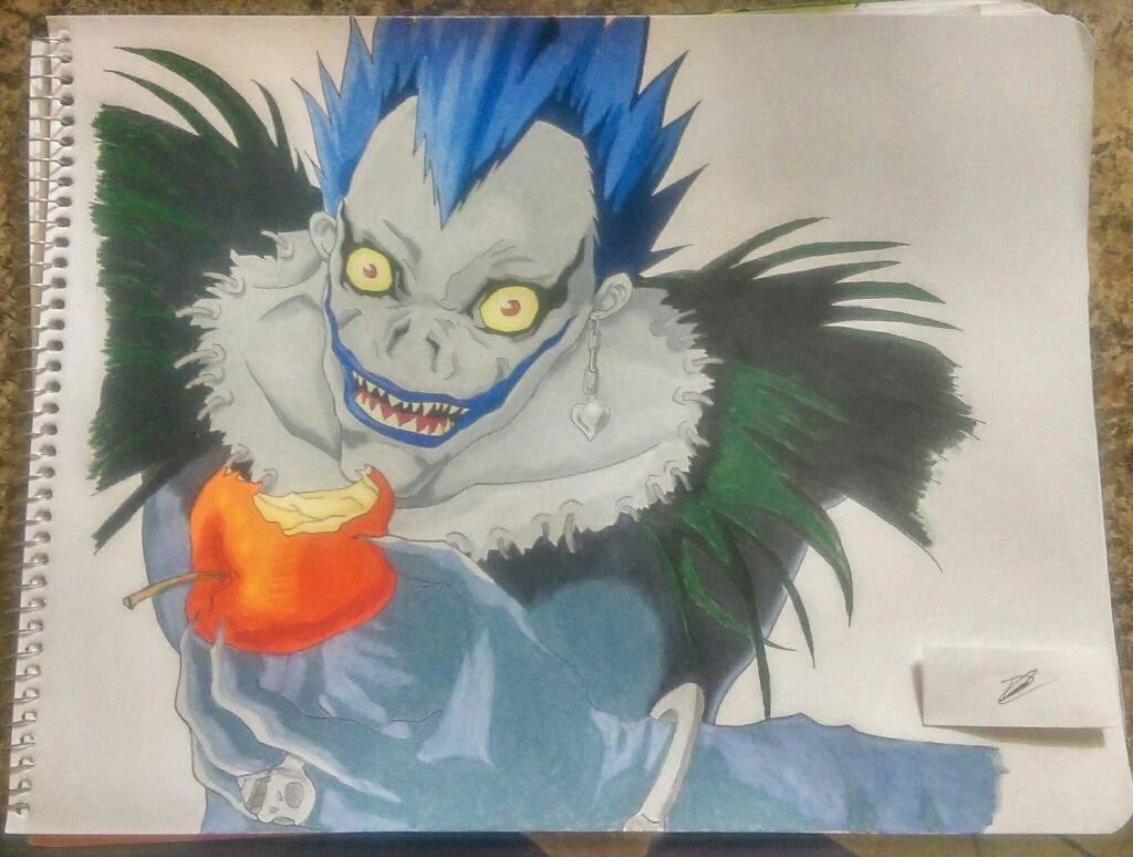 Ryuk Death Note Mipropioarte Dibujarte Amino