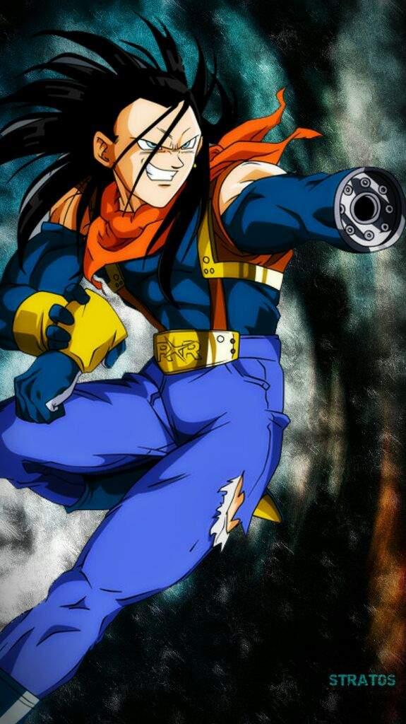 Super androide 17   DRAGON BALL ESPAÑOL Amino