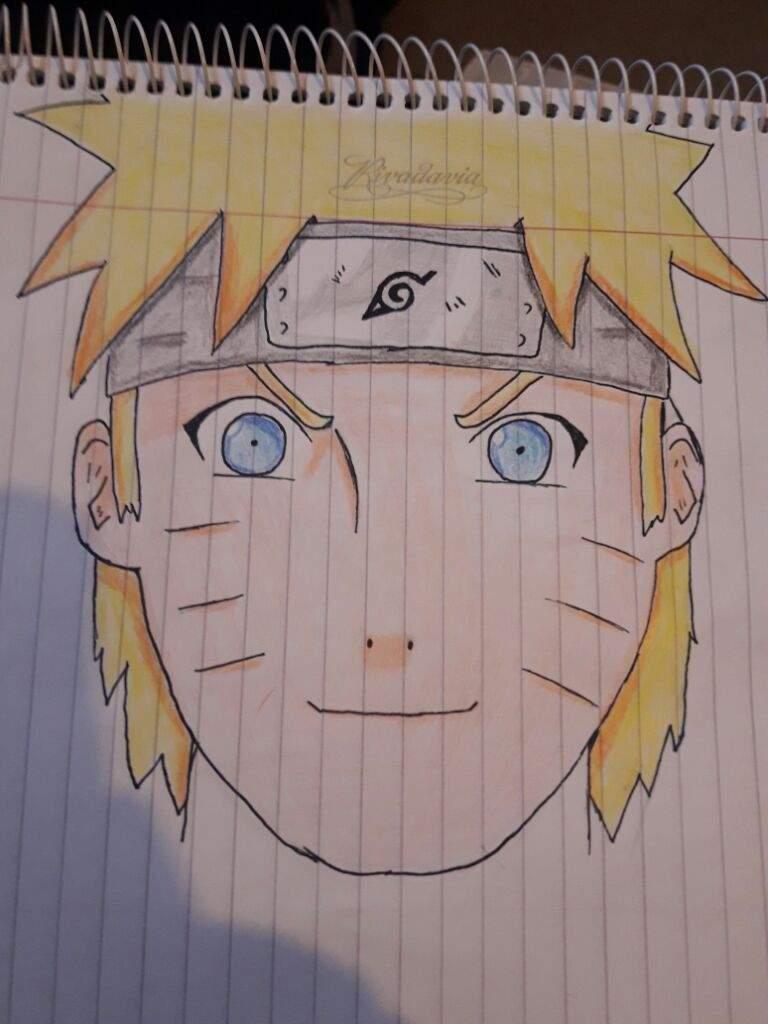 Dibujo de Naruto coloreado  Naruamino Amino