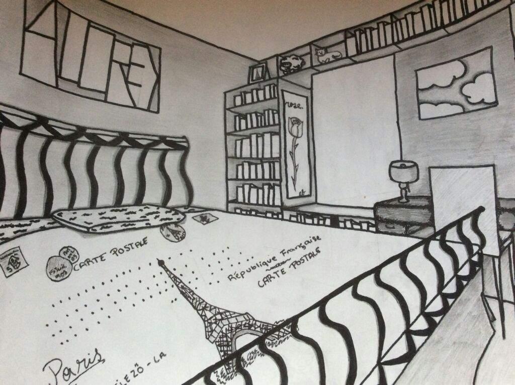 2 Point Perspective Room I M Back On Art Amino Art Amino