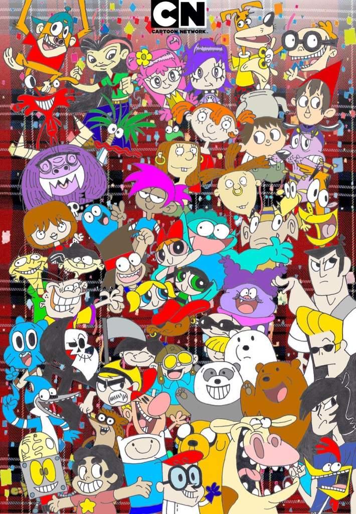 Cartoon Characters 30 Years Later : Cartoon network th adultcartoon