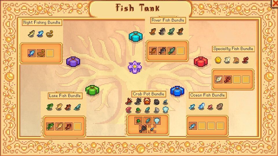 fish bundles guide stardew valley amino