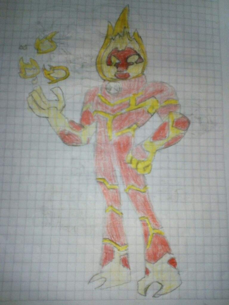 Dibujo De Fuego De El Reboot C Ben 10 Amino Español Amino
