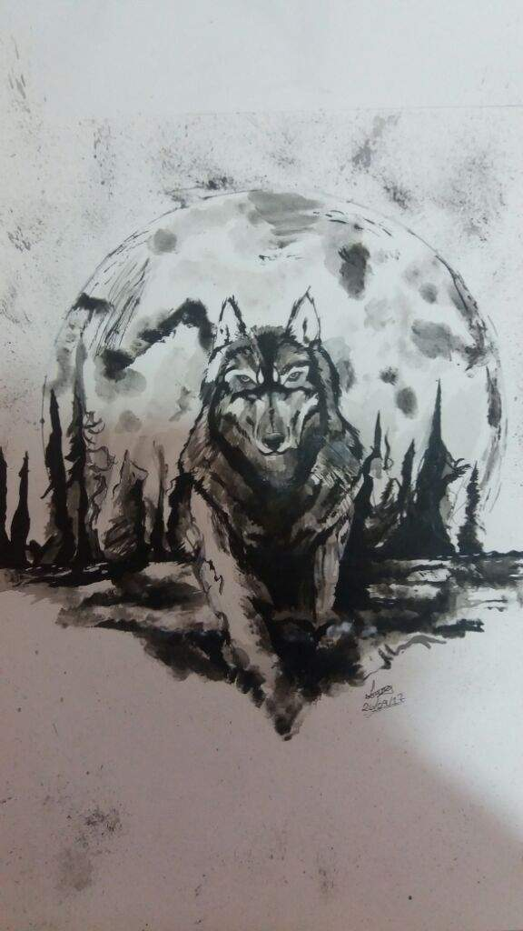 Amo Desenhar Lobos Desenho De 2017 Desenhos Amino
