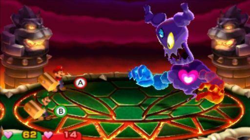 Mario and luigi superstar saga + bowser's minions Cackletta Boss