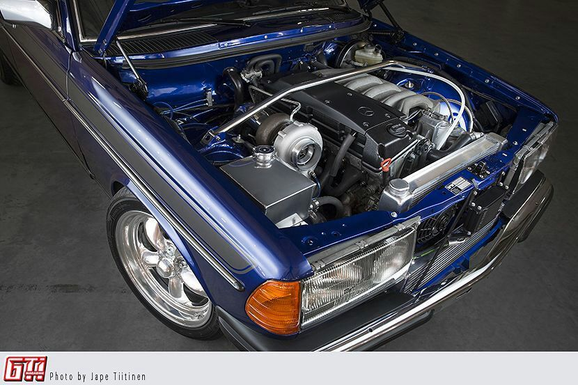 Beatiful Tuned Mercedes Benz W123 Gti Magazine Garage Amino