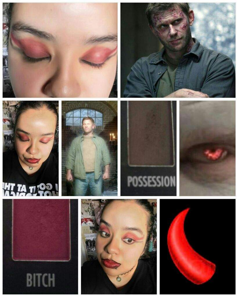 Lucifer Inspired Makeup Look Using The