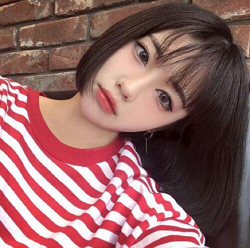 Cabello Ulzzang Para Chicas Moda Y Belleza Asiatica Amino