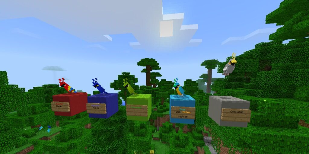 What's New In 1 2: Parrots   Minecraft Amino