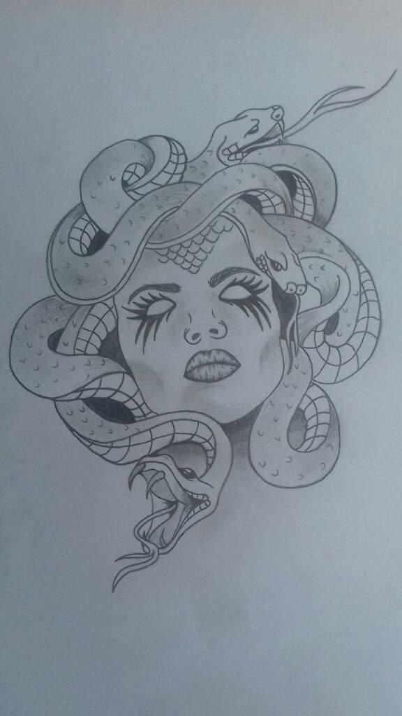 Gorgona Medusa Mitologia Griega Love Tattoos Amino