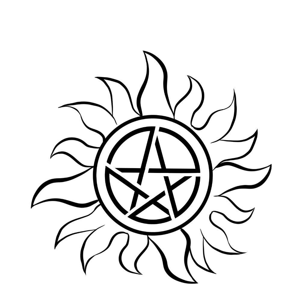 Anti Possession Symbol Supernatural Amino