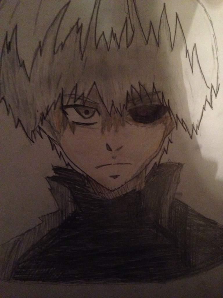 Kaneki White Hair Without Mask Tokyo Ghoul Community Amino