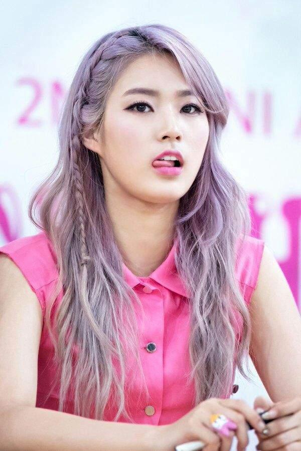 BEST kpop female idols that rocked purple hair   K-Pop Amino