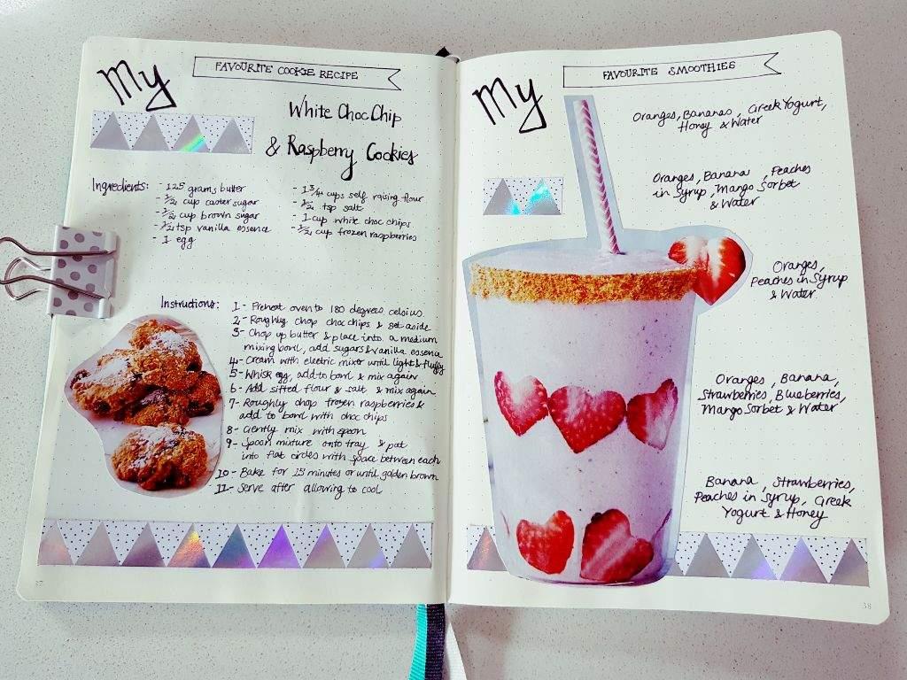 My favourite cookie recipe \u0026 My favourite smoothies