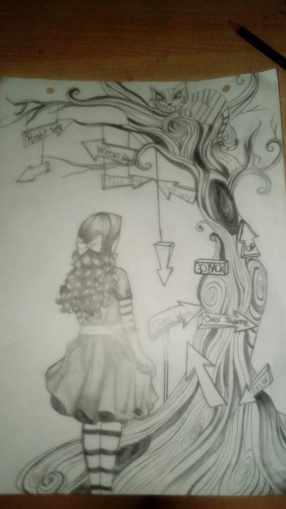 foto de Dibujo de Alicia En El Pais De Las Maravillas | •Anime• Amino